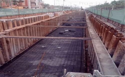 「钢板桩」拉森钢板桩的桩基础施工工艺流程讲解(详细)